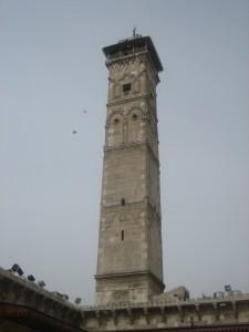 Das Minarett vor der Zerstörung / Foto: Burgerbe.de