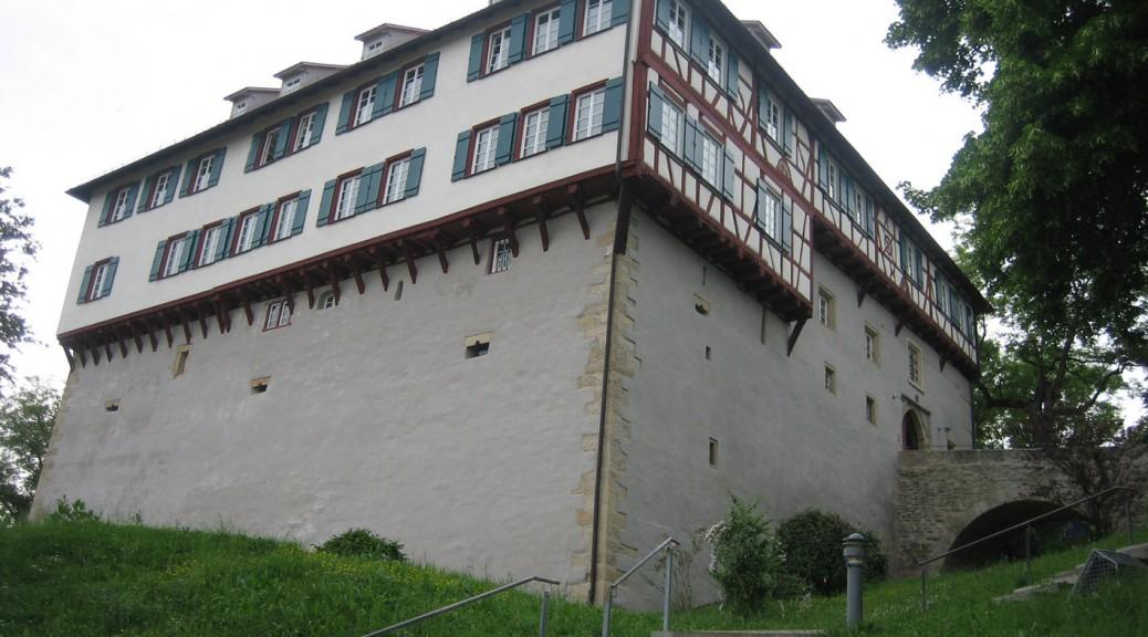 Schloss Gomaringen: Zeitweise Wohnort von Gustav Schwab