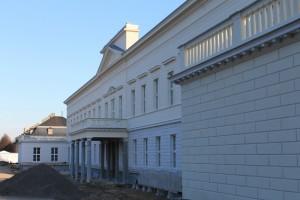 Rückwärtige Schlossfassade