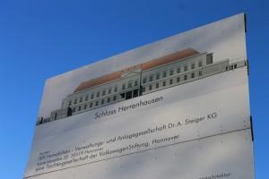 Gesucht: Schloss Herrenhausen