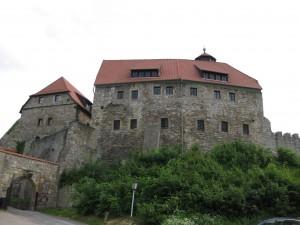 Nach der Sanierung: Die Wachsenburg