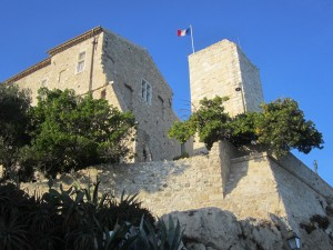 Das Chateau Grimaldi in Antibes