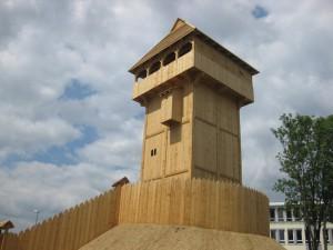 Wie frisch aus dem Baumarkt; Deutscher Motten-Nachbau in Herne 2010