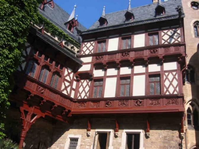 """Schloss Wernigerode: Drehort für """"Das kleine Gespenst"""" / Foto: Burgerbe.de"""