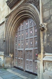 Eingang zur Bodleian-Bibliothek / Foto: Wikipedia/Kaihsu Tai