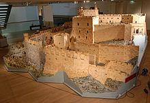 Das Modell des Krak des Chevaliers in 1:25 / Foto: Wikipedia/Burgenkunde