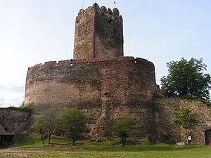 Die Bolkoburg (Zamek w Bolkowie) / Foto: Wikipedia/gemeinfrei
