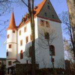 Schloss Schlettau: Einbrecher klettern über Pranger