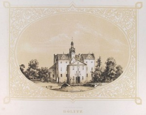 Schloss Dölitz: Die Reste wurden 1947 gesprengt. Foto: Wikipedia/Jabu