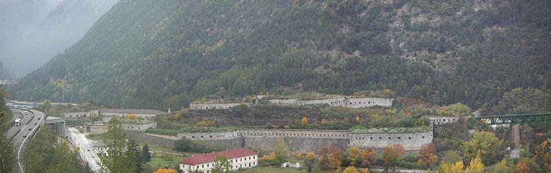 Die Festung Franzensfeste / Foto: Wikipedia/Llorenzi
