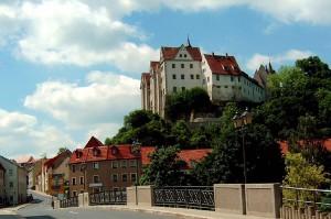 Schloss Nossen über dem 'Muldental / Foto: Wikipedia/Thomas Richter