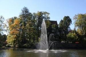 Der Park von Schloss Schlettau / Foto: Wikipedia/Miebner