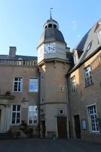 Burg Gemen: Der Innenhof