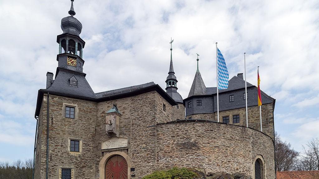 Burg Lauenstein bei Ludwigsstadt / Foto: Tors (gemeinfrei)