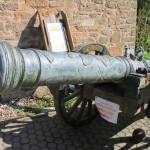 Burg Satzvey Kanone