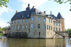 Burg / Schloss Gemen ist umgeben von Gräften