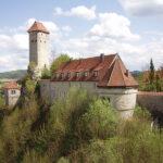 Burg Veldenstein in Franken: Gefahr weiterer Felsstürze