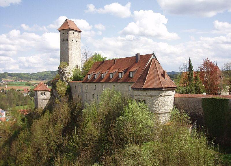 Burg Veldenstein in Neuhaus an der Pegnitz / Foto: Wikipedia/Xocolatl