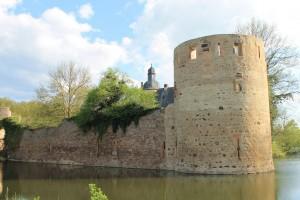 Burg Veynau war eine mächtige Festung