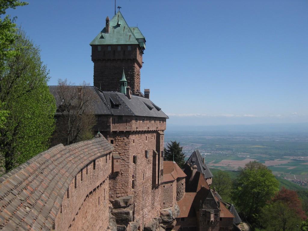 Blick von der Haut-Koenigsbourg
