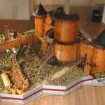 Größte Burgmodelle der Welt: Donjon von Schloss Coucy