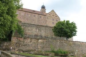 Plassenburg: Die mächtigen Bastionen hielten Belagerer auf Abstand.