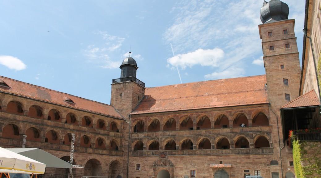 Die Plassenburg bei Kulmbach