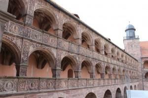 Die Plassenburg wurde mit beim Wiederaufbau nach 1557 zum Renaissanceschloss.