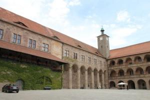 Der Burghof der Plassenburg.