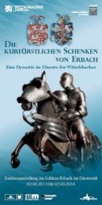 """Plakat zur Ausstellung """"Die kurfürstlichen Schenken zu Erbach"""" / Bild: Ausstellungsplakat von Erbach.de"""