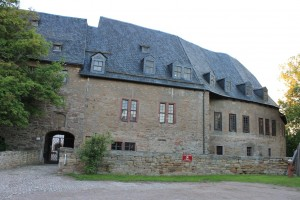 Schloss Altstedt: Bau des Schlossmuseums