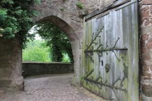 Das Burgtor von Schloss Berlepsch