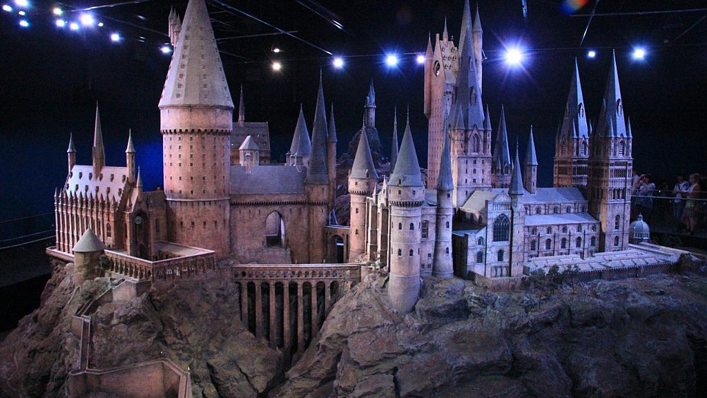Schloss Hogwarts_model
