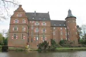 Schloss Bedburg ist heute in Privatbesitz