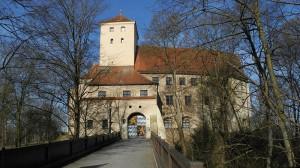 Das Wittelsbacher Schloss Friedberg / Foto: Wikipedia/Franzfoto