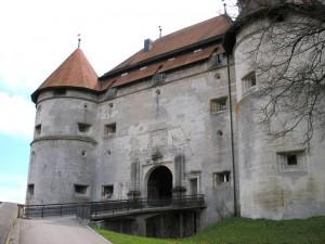 Haupttor von Schloss Hellenstein / Footo: Wikipedia/Dark Avenger