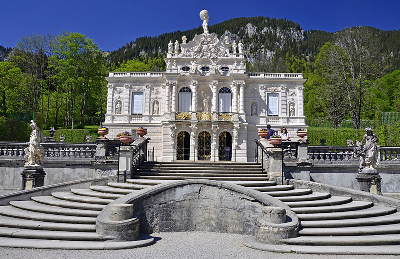 schloss linderhof sanierung kostet 34 millionen euro. Black Bedroom Furniture Sets. Home Design Ideas