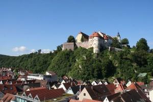 Schloss Hellenstein über Heidenheim an der Brenz / Foto: Wikipedia/Stadt Heidenheim