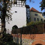 Burg Düben: Abwasser-Fontäne setzt Teile der Stadt unter Wasser