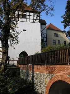 Der Bergfried von Burg Düben / Foto: Wikipedia/Alma