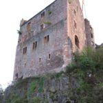 Burg Hohengeroldseck: Spezialmörtel für die Mauersanierung