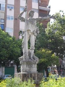 In Sevilla steht ein Denkmal für den Matrosen Rodrigo de Triana / Foto: Wikipedia/Lobillo, (España)