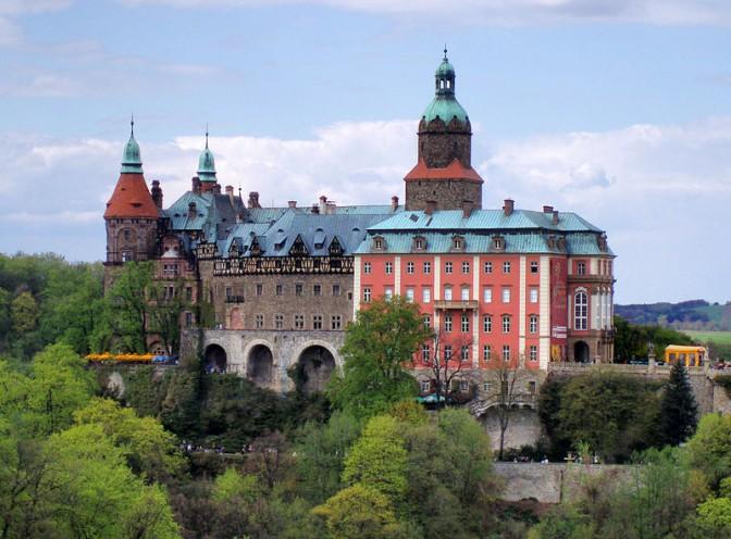 Schloss Fürstenstein in Schlesien / Foto: Wikipedia/Drozdp