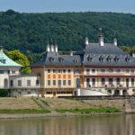 Hochwasser: Wasserpalais von Schloss Pillnitz muss wieder trocknen