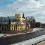 Großbrand auf Schloss Riga: Rettungsaktion für Lettisches Nationalmuseum