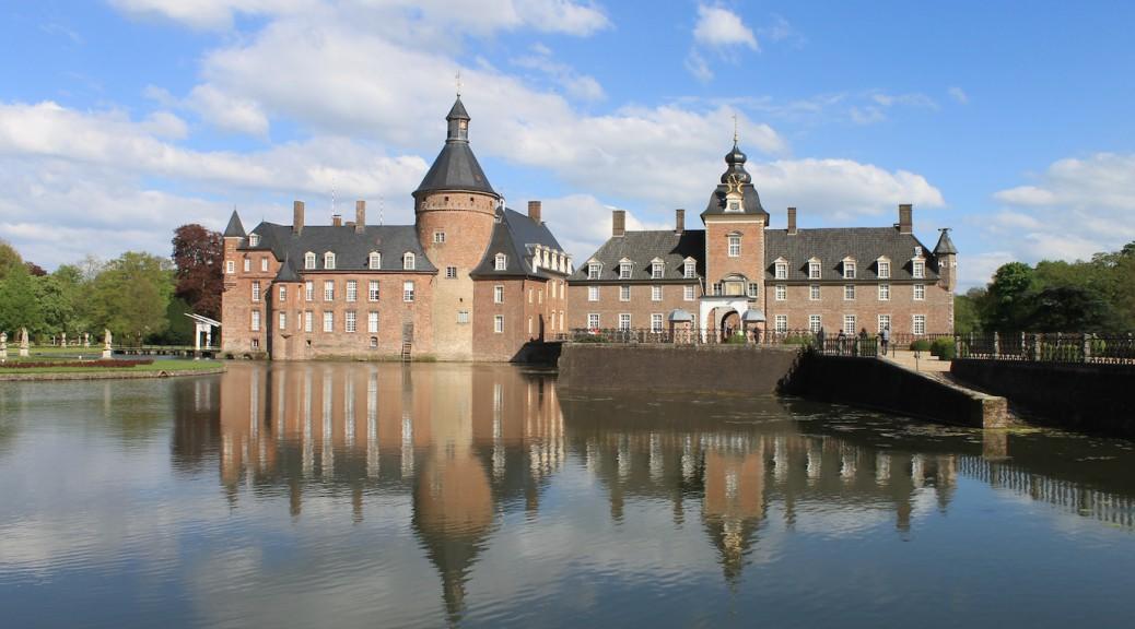 Wasserschloss Burg Anholt im Münsterland