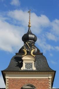 Turmschmuck auf Burg Anholt