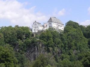 Schloss Wolkenstein über dem Zschopautal / Foto: Wikipedia/Oxensepp