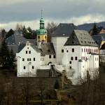 Schloss Wolkenstein und die Schrauber mit der NVA-Technik
