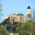 Saale-Hochwasser flutet Campus Design der Kunsthochschule Burg Giebichenstein